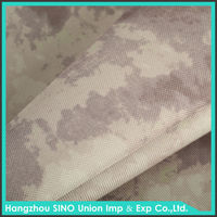 Durable camouflage polyester 1000 denier polyester fabric