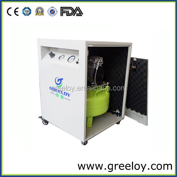 Ultra Quiet Veterinary Dental Air Compressor