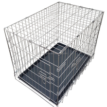 large cheap stainless steel dog cage,dog crate,animal cage
