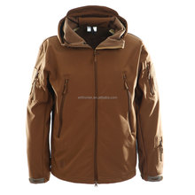 Hot sale warm fleece jacket waterproof softshell