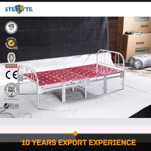 Cheap high quality latest bed designs single folding bed india
