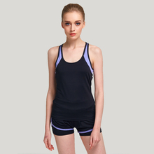 2017 New Style 4 Color Womens Yoga Sport Tank Tops Quick Dry Elastic Sleeveless Running Tank top Gym Fitness Stretch Strap Vest