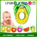 BPA free fruit shape silicone baby used teether