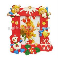 2014 promotional soft pvc beautiful Christmas photo frames