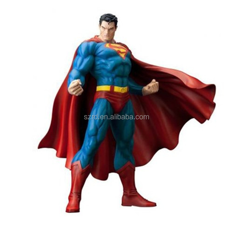 high quality 1/6 scale action figure factory,custom action figure PVC maker,customized superman plastic action figure wholesale