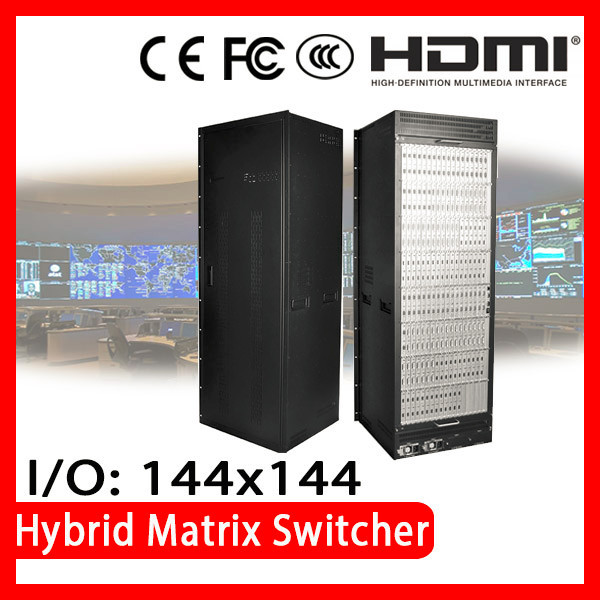 ISEMC HDMX-30U CE FCC Certified distributor wanted Audio and Video hybrid matrix switchers