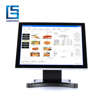 1280x1024 lcd 17 inch capacitive touch screen monitor