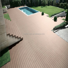 Wood Floor Type and Outdoor Wood Extruded Plastic Composite Deck WPC Decking Manufacture