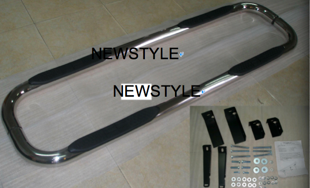 "3"" STAINLESS STEEL ROUND NERchevrolet suburban auto parts side bar for Chevrolet Suburban XL (1500 Models Only) 4 Door 2000-2011"