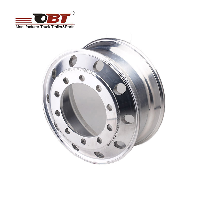 Alloy wheel rim for trailers