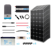 Renogy 600 Watt 12 Volt Premium Solar Complete Kit and solar power system