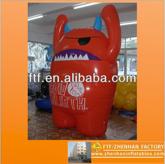 2013 hot sale advertising 2m H PVC inflatable Cartoon characters
