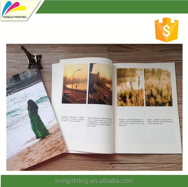 New product 2017 catalog printing kraft paper for wholesales