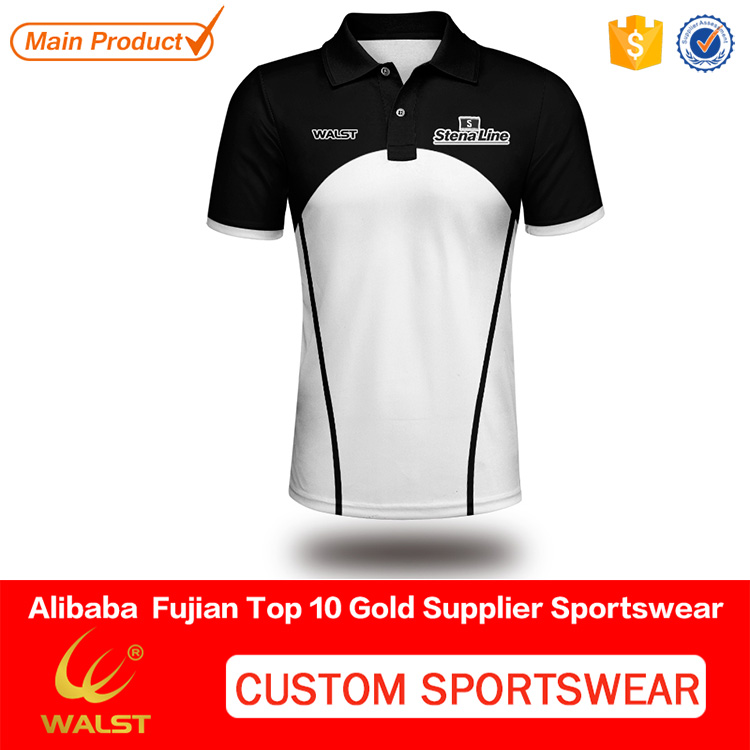 Customized european size sublimated polo shirt for Men