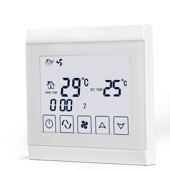 230V Smart Digital AC Thermostat For Air Conditioning