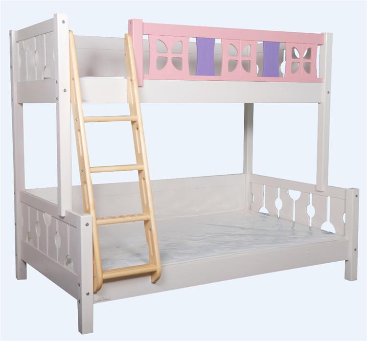 malasia futn cama litera con escalera de madera para nios with cama infantiles nia