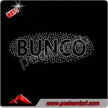 Beautiful Bunco Hotfix Motif Design For Garment