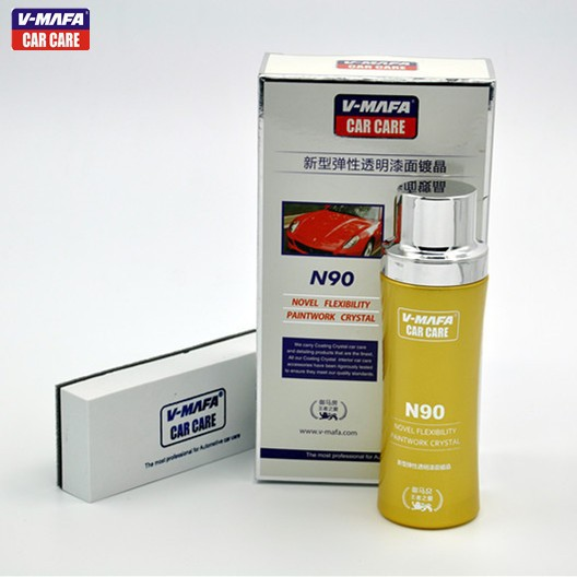 Liquid Car Glass Coating for auto paint protection,anti-scratch,anti-fire,self-cleaning,hydrophobic N90