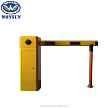 Arm Auto Reverse And Cooling Fan Device RFID Barrier Gate For Car Parking Management System