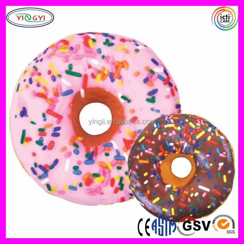 E563 Sweet Treats Donut Microbead Pillow Funny Sublimation Printed Stuffed Funny Pillow