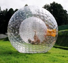 Outdoor toys inflatable human sized hamster ball zorb ball F7021