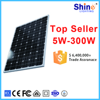 2017 cheapest price high efficiency 100W mono solar panle from factory offer