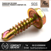 China factory hex self drill screws with washer attached C1022A