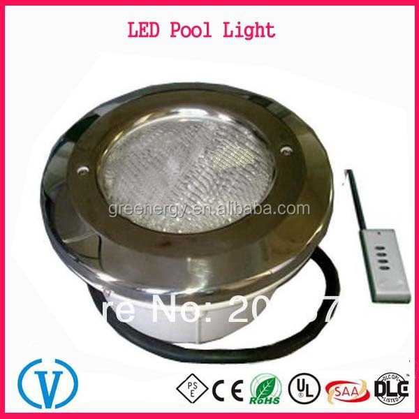 Available At Alibaba.com In Russian 12V Recessed RGB led pool light IP68 PAR56 Underwater Light