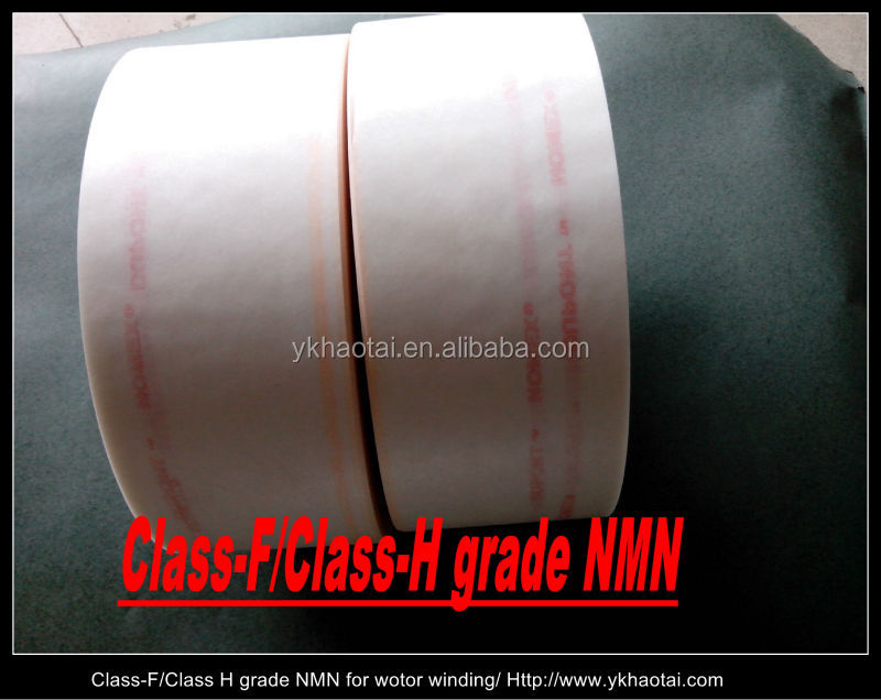 Dupont nomex / mylar laminated NMN insulation paper for motor winding