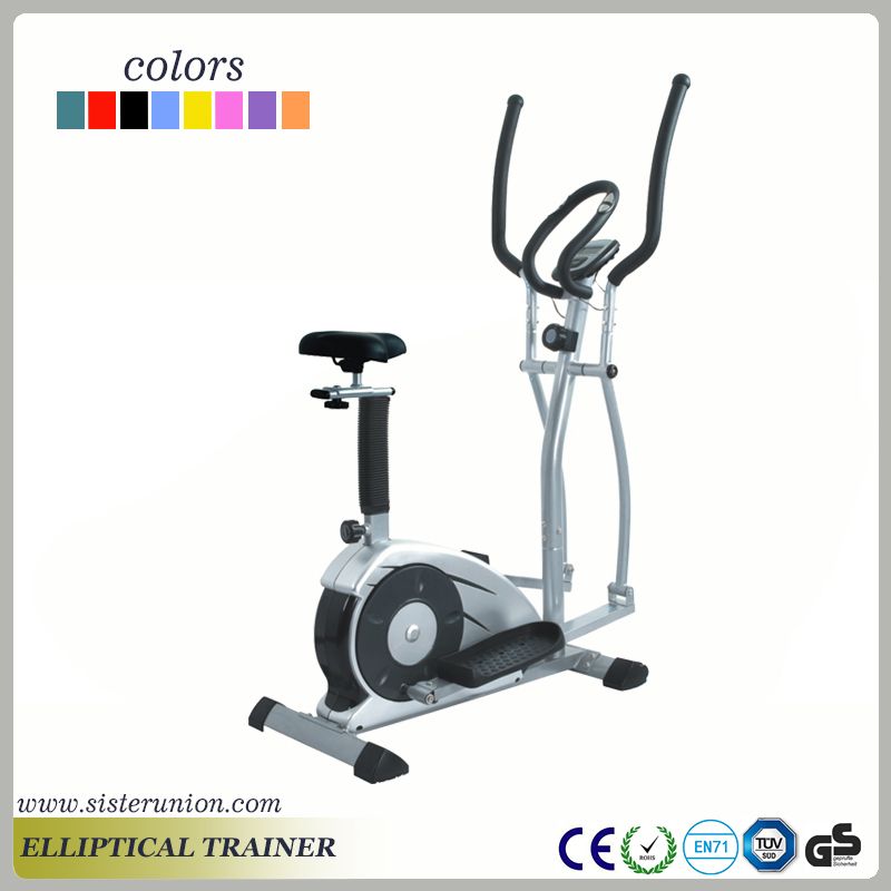 Elliptical Cross Trainer Exercise Bike Cardio Workout Fitness Machine