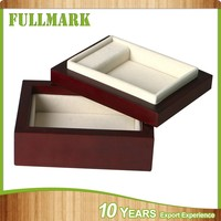 Wooden jewelry box for storage trinket