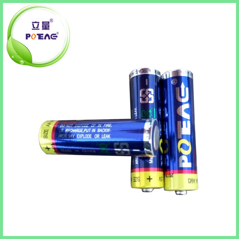 Super dry cell 1.5 V aa lr6 am3 alkaline battery