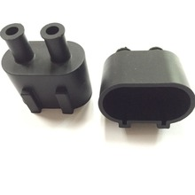 Molded electronic silicon component