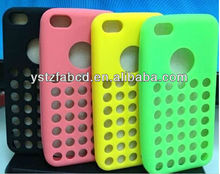 Silicone mobile phone case for iphone 5c
