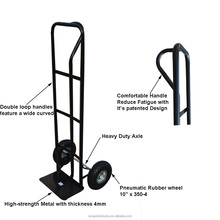 manufacture folding hand truck trolley for agriculture