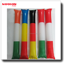 custom made cheering inflatable balloon stick clappers