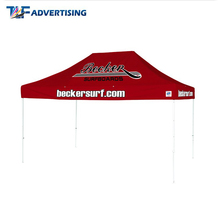 Custom dye sublimation print roof top gazebo tent 6x3 large event tents for sale