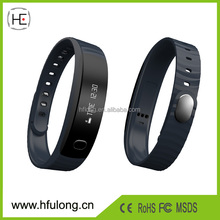 OLED Smart Healthy Bracelet Watch Wristband Sport Gym Fitness Tracker Passometer WristWatch Phone Mate