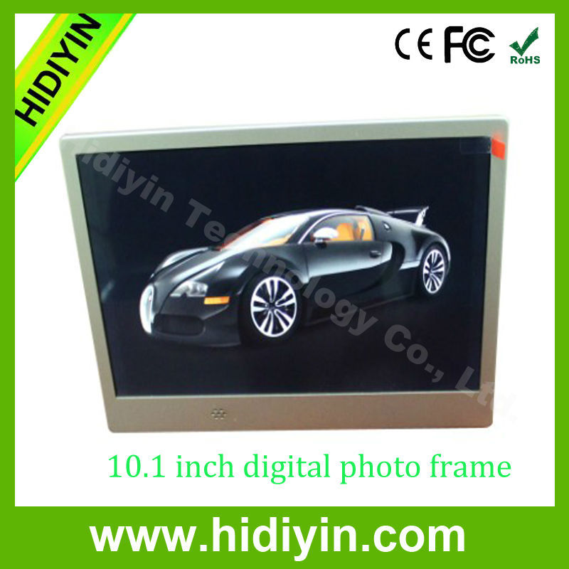 10.1'' Size and Acrylic Frame Material digital photo frame wifi picasa