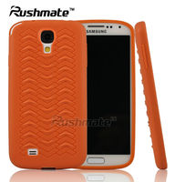New Arrival Orange Cases Mobile Phone Accessories For Samsung I9500 Galaxy S4 TPU Sublimation Case Cover