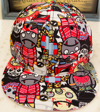 China factory custom wholesale 2015 new fashion outdoor hip-hop cheap graffiti colorful blank snapback hat