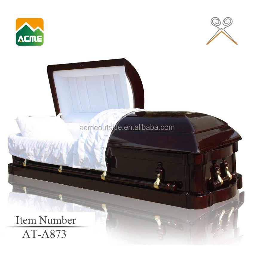 trade assurance supplier reasonable price clear crystal glass casket