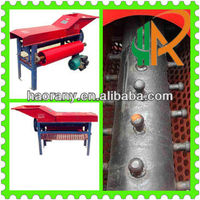 high working efficiency double roller maize peeler and thresher