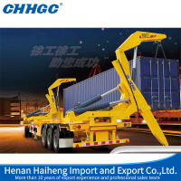 High Quality 3 Axle XMCG MQH37A container side lifter trailer for 37t lifting capacity