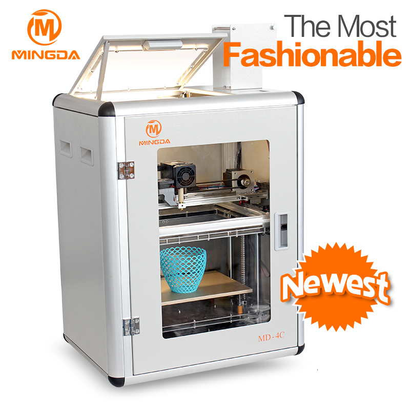 mini portable and small ultra quiet high precision DIY 3d printer for home and school use engineers available 3d printer
