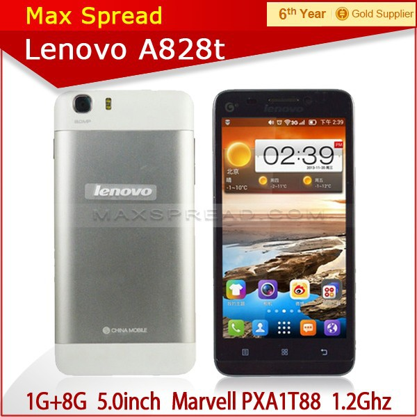 2014 hot wholesale Dual Core Android 4.1 Mobile Phone MTK6577 Lenovo P770