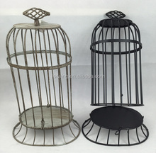Factory direct metal basket bird cage for wedding home decoration garden