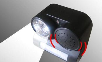 Good Ideas Solar Powered PIR Motion Activated Pest Repeller- with Sound-Lights - vermin, cats, dogs, pests, animal chaser.