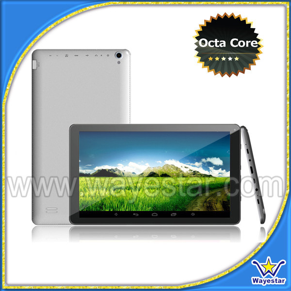 10 inch Allwinner A83t Octacore Android Tablet PC 1G+16G