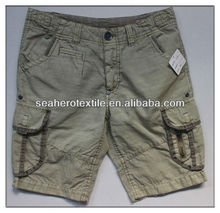 khaki cargo; shorts men;bermuda cargo;fashion short
